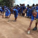 The Water Project: SLMB Primary School -  Balancing Race