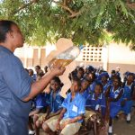 The Water Project: SLMB Primary School -  Diarrhea Doll