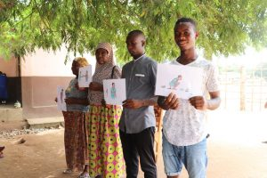 The Water Project:  Holding Training Materials