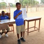 The Water Project: SLMB Primary School -  Student Participation