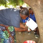 The Water Project: SLMB Primary School -  Tippy Tap Demonstration