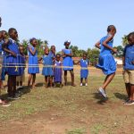 The Water Project: SLMB Primary School -  Traditional Skipping Game