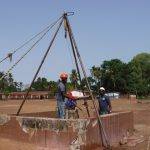 The Water Project: SLMB Primary School -  Bailing The Well