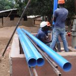 The Water Project: SLMB Primary School -  Casing