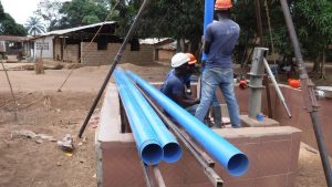 The Water Project:  Casing