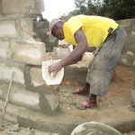 The Water Project: SLMB Primary School -  Cement Work
