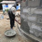 The Water Project: SLMB Primary School -  Cementing The Wall