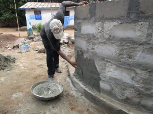 The Water Project:  Cementing The Wall
