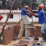 The Water Project: SLMB Primary School -  Drilling