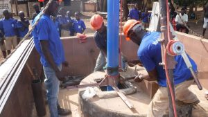 The Water Project:  Well Rehab Underway