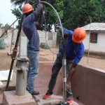 The Water Project: SLMB Primary School -  Yield Test