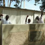 The Water Project: Bululwe Secondary School -  Complete Boys Latrine