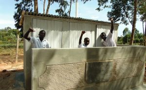 The Water Project:  Complete Boys Latrine