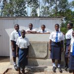 The Water Project: Bululwe Secondary School -  Complete Girls Latrine