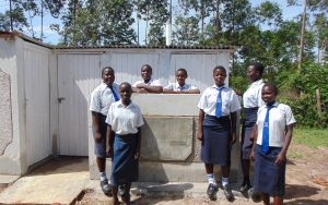 The Water Project:  Complete Girls Latrine