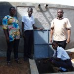 The Water Project: Bululwe Secondary School -  Finished Tank