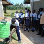 The Water Project: Bululwe Secondary School -  Handwashing
