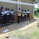 The Water Project: Bululwe Secondary School -  Handwashing Demonstration