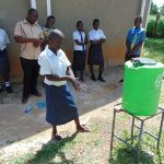 The Water Project: Bululwe Secondary School -  Handwashing Practice