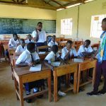 The Water Project: Bululwe Secondary School -  Toothbrushing Practice