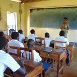 The Water Project: Bululwe Secondary School -  Training Begins