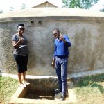The Water Project: Malimili Secondary School -  Flowing Water