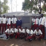 The Water Project: St. Theresa's Bumini High School -  Completed Tank
