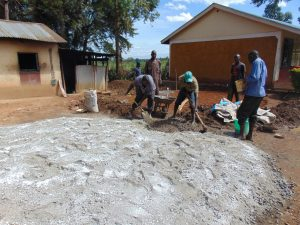 The Water Project:  Preparing The Site