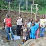 The Water Project: Emukangu Community, Okhaso Spring -  Completed Spring