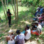 The Water Project: Emukangu Community, Okhaso Spring -  Training Begins