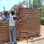 The Water Project: Bululwe Secondary School -  Latrine Walls