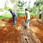 The Water Project: Mukhweya Primary School -  Latrine Foundations