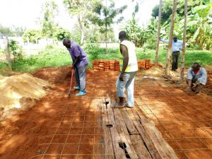 The Water Project:  Latrine Foundations