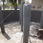 The Water Project: St. Theresa's Bumini High School -  Pillars To Support Dome