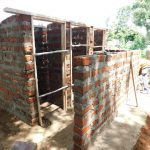 The Water Project: Mukhweya Primary School -  Latrine Construction