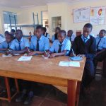 The Water Project: Hombala Secondary School -  Training Begins