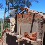 The Water Project: Dr. Gimose Secondary School -  Latrine Constsruction
