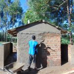 The Water Project: Kimangeti Girls' Secondary School -  Latrine Construction