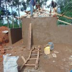 The Water Project: Hombala Secondary School -  Latrine Construction