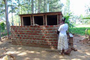 The Water Project:  Latrine Progress