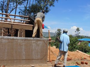 The Water Project:  Roofing Latrines