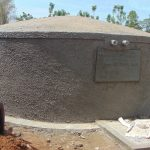 The Water Project: Imanga Secondary School -  Front Of Tank