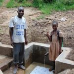 The Water Project: Mwichina Community, Shihunwa Spring -  Flowing Water