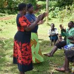 The Water Project: Ataku Community, Ngache Spring -  Ice Breaker Begins Training