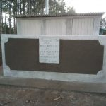 The Water Project: Mukhweya Primary School -  Completed Latrines