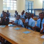 The Water Project: Hombala Secondary School -  Handwashing Training