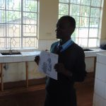 The Water Project: Hombala Secondary School -  Students Leads An Activity