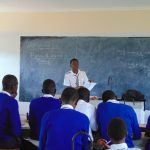 The Water Project: Dr. Gimose Secondary School -  Training Begins