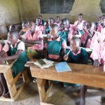 The Water Project: Mukhweya Primary School -  Say Ah Dental Hygiene Training