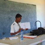 The Water Project: Dr. Gimose Secondary School -  Student Leads Activity